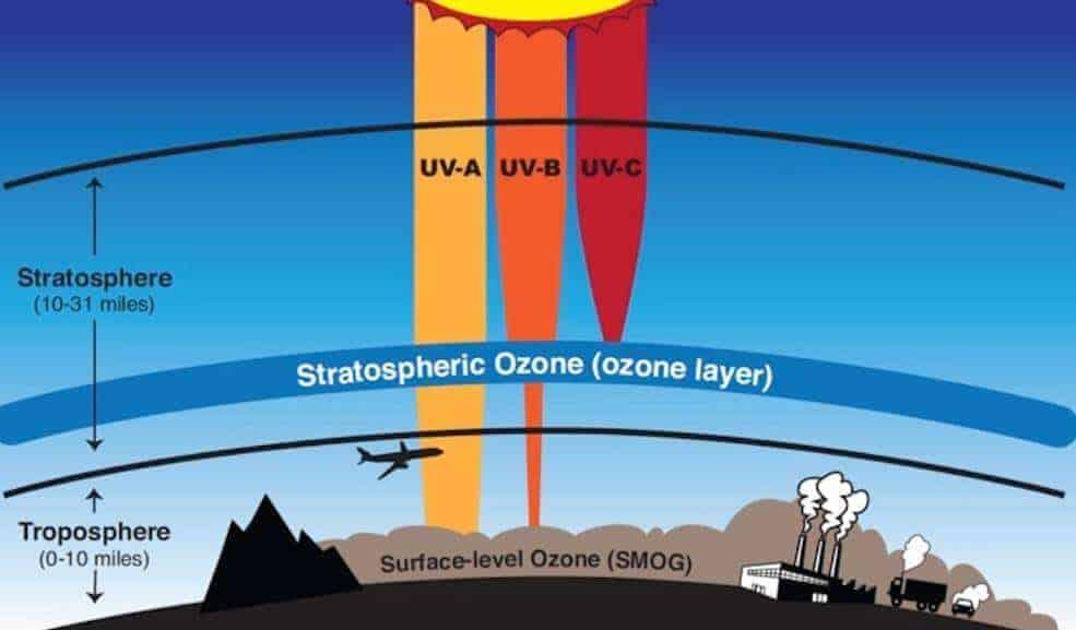 ozon gazı ne işe yarar
