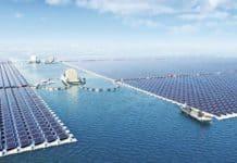 yüzen güneş santrali