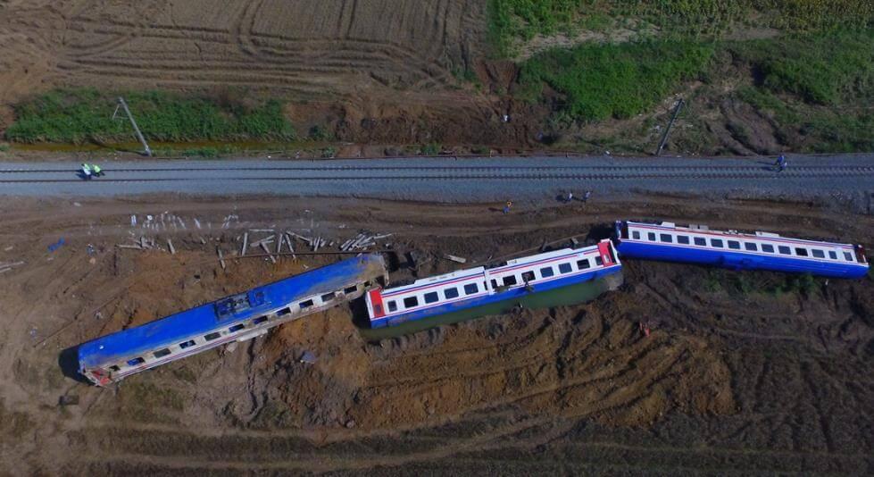 Çorlu'daki Tren Kazası