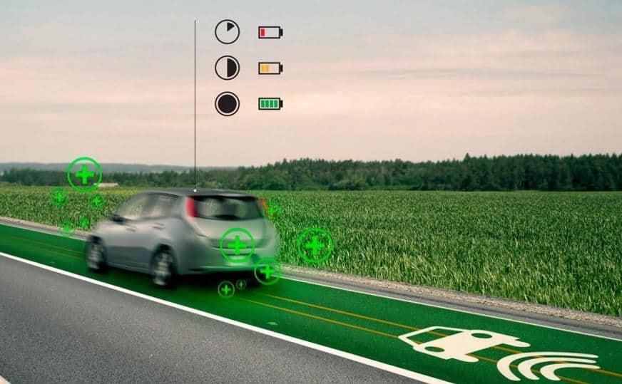 Elektrikli Arabaları Şarj Eden Yollar