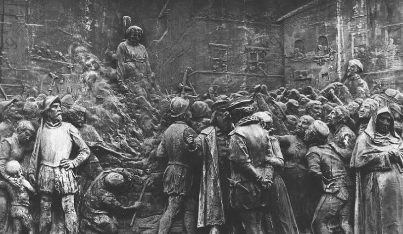 Giordano Bruno ölümü