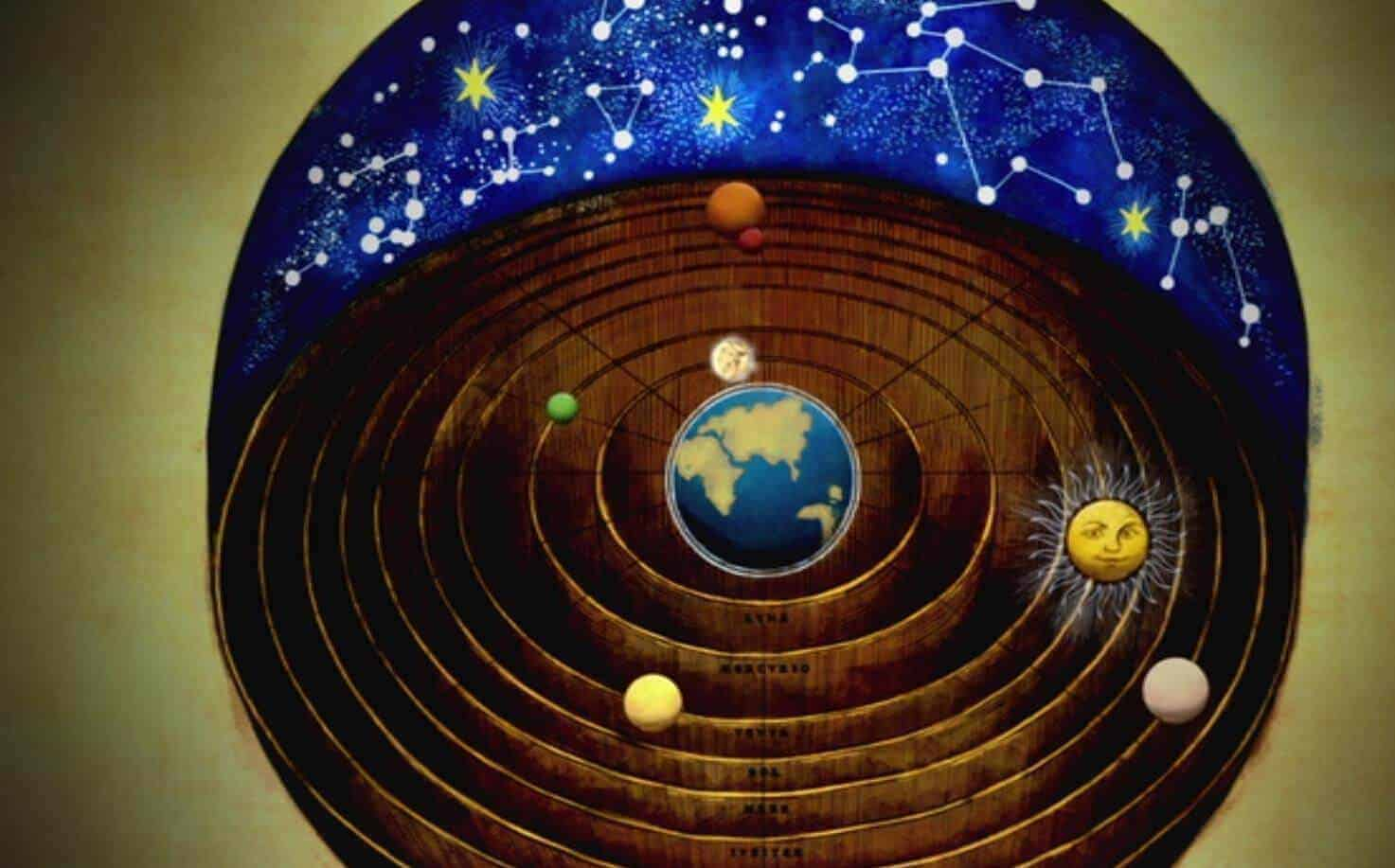 güneş merkezli evren modeli