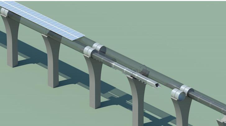 Hyperloop genel görünümü