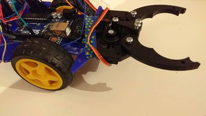 Küçük Eşya Toplama Robotu