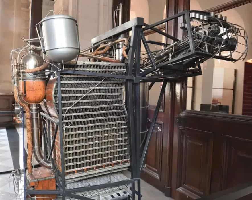 Clement Ader motor
