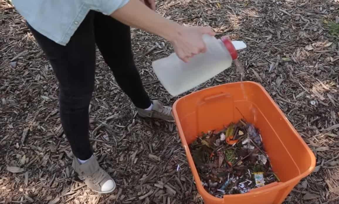 kompost karışımı