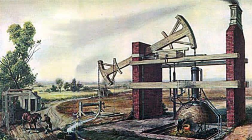 ilk Buhar Makinesi