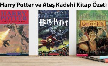 Harry Potter ve Ateş Kadehi Kitap Özeti