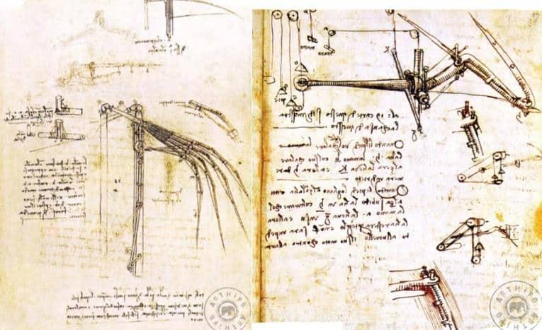 Leonardo Da Vinci Fizik Çalışmaları