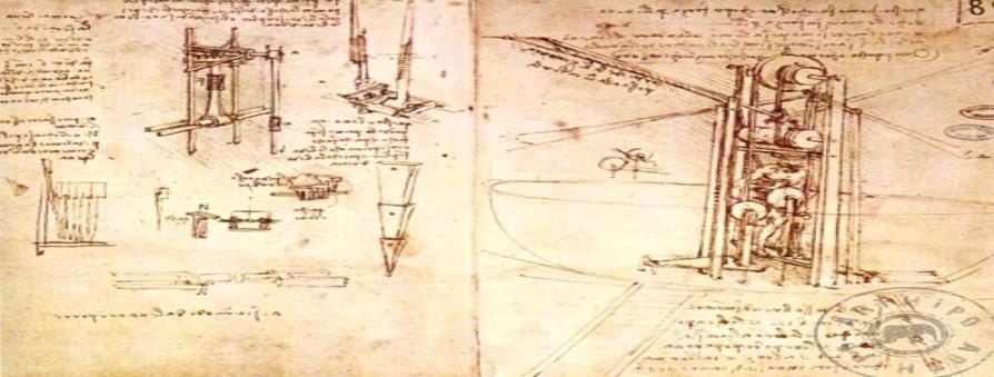 Leonardo'da Vinci'nin Mühendislik Çalışmaları