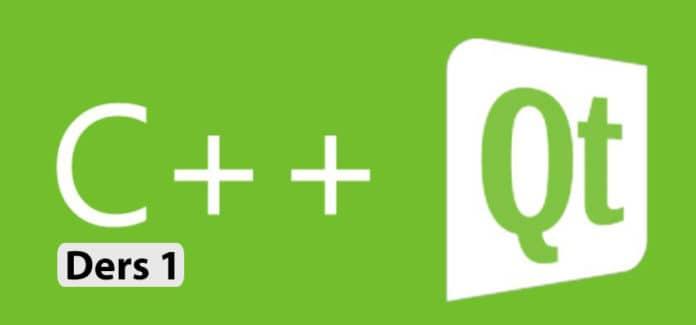 qt ile grafik arayüz programlama ders 1