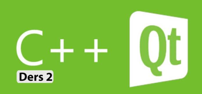 qt ile grafik arayüz programlama ders 2