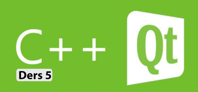 Qt C++ Kütüphanesi ile GAP - İplik Kullanımı