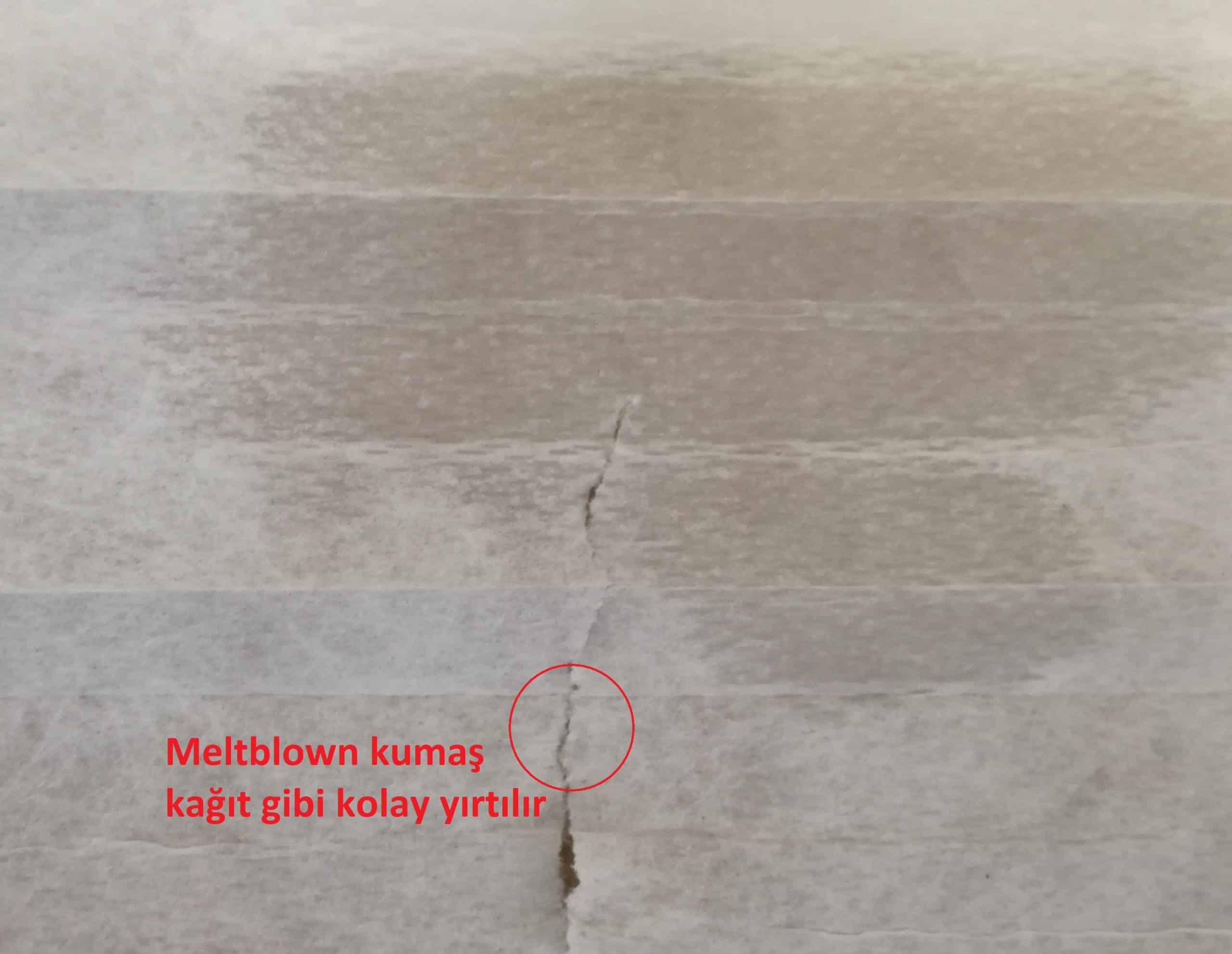Meltblown kumaş nasıl anlaşılır
